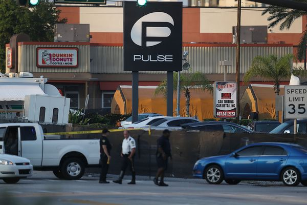 Pulse nightclub, after the attack.