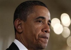 """Obama delivers remarks during the launch of """"Joining Forces"""" at the White House in Washington"""
