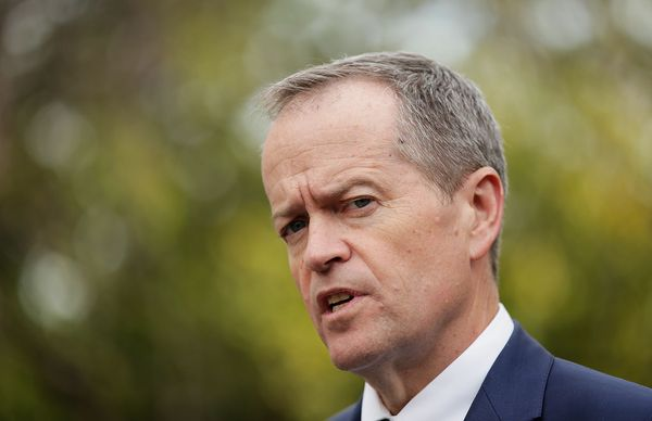 Labor Party leader Bill Shorten, who is hoping to shorten Malcolm Turnbull's time in office, amirite?