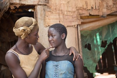 Lupita Nyong'o plays Phiona's mother, Harriet.