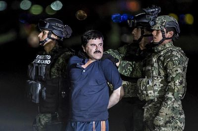 El Chapo in custody
